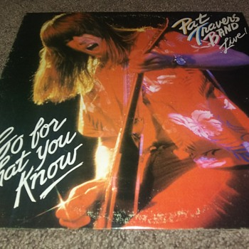 The Pat Travers Band...On 33 1/3 RPM Vinyl - Records
