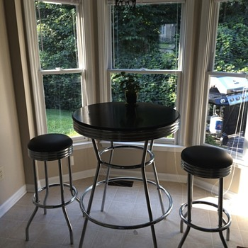 Soda Fountain/Maltshop table - Furniture