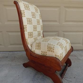 Sengi Platform Rocker Chair- Cushion Seat