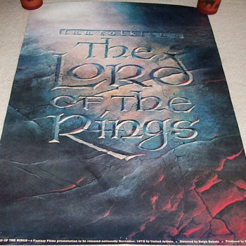 The Lord Of The Rings Promotional Poster - Posters and Prints