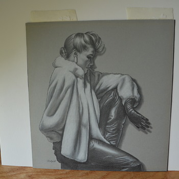 Film Noir Painting/Drawing Help with Artist ID Please