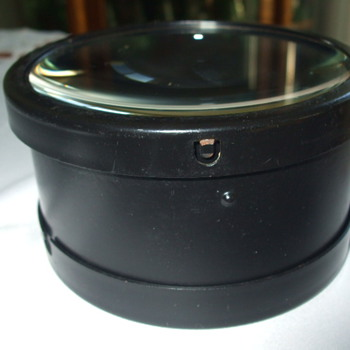 Black Cylinder LENSES/GLASS  Box- What is it? - Tools and Hardware