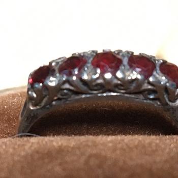 Vintage silver ring  - Silver