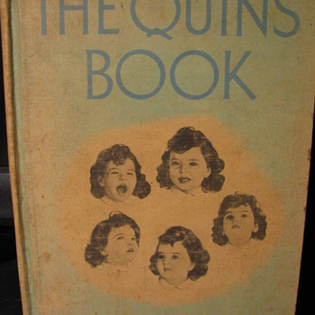 The Quins Book by Jean Ayer 1937 - Books