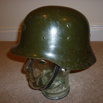 Spanish WW11 steel helmet