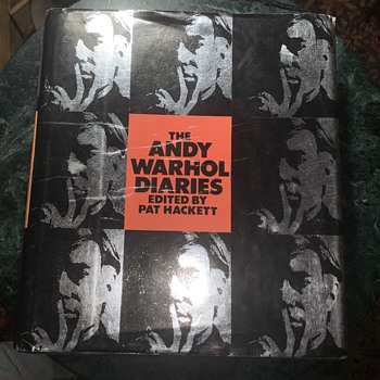 The Andy Warhol Diaries by Pat Hackett - Books