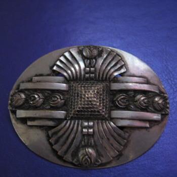 Antique Silver Brooch  - Fine Jewelry