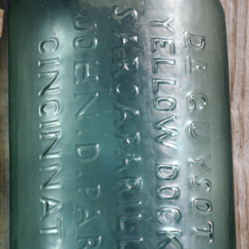 ~~~Old Pontiled Medicine Bottle~~~