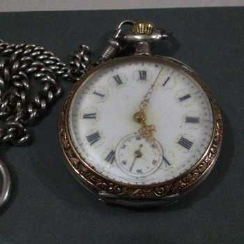 hi i need some help pls does anyone know something about this watch - Pocket Watches