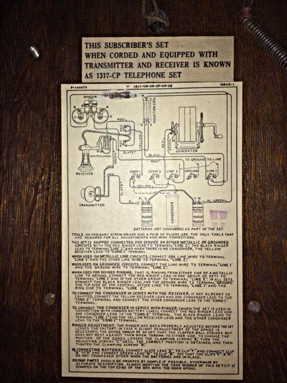Need Western Electric Wiring Diagram