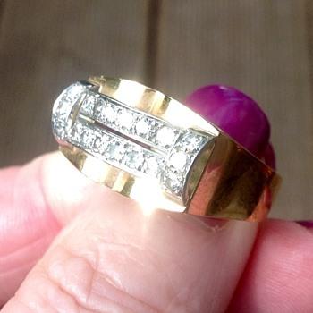 Gold Diamond Ring - Fine Jewelry