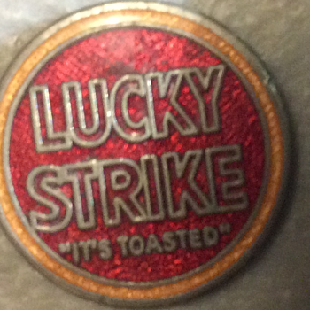 Broke in two ,My Lucky Strikes  - Advertising