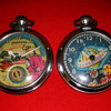 'Dan Dare' & 'From Outer Space' Animated Pocket Watches