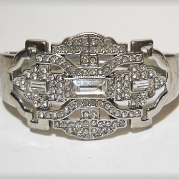 Costume Bracelet - Art Deco looking - Costume Jewelry