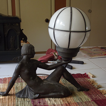 1922 Cleoptre with Wire Frame Globe, E. Movier