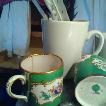 Tea cup picked from dump. - China and Dinnerware