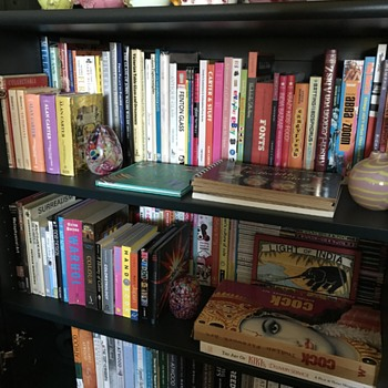 Books & collection - new arrangements - Books