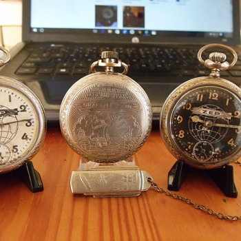The Graf Zeppelin – The first flight of an airship around-the-world.  - Pocket Watches