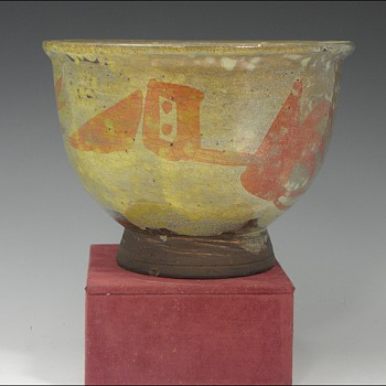 Studio Art Pottery Bowl by Fred Farr, American - Pottery