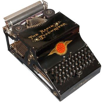 Rapid typewriter - 1888 - Office