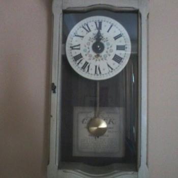 NEW ENGLAND CLOCK COMPANY - SESSIONS CLOCK