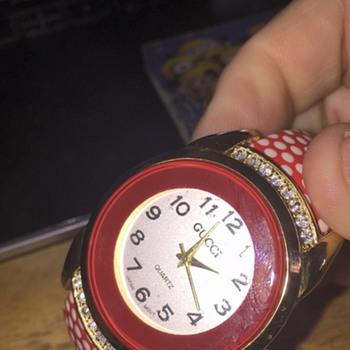 Non Profit takes donations has GUCCI bangle watch