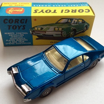 A few more from Corgi 60's - Model Cars
