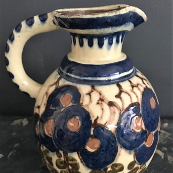 Hand Made Clay Pitcher  - Pottery
