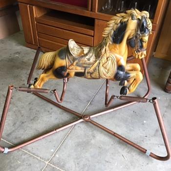 Vintage Spring Horse