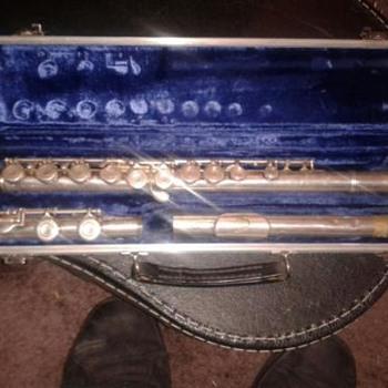 Antique El Deford Elkhart Flute