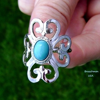 Sarah Coventry Ring - Moon Cloud - Costume Jewelry