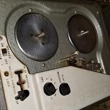 Old recording reel - Electronics