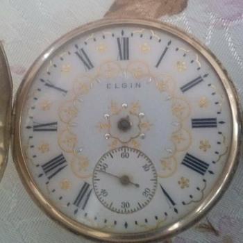 ELGIN 14 K  POCKET WATCH - Pocket Watches