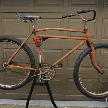 1930's MEAD-RANGER (?) SKIP-TOOTH  BICYCLE RE-BUILD