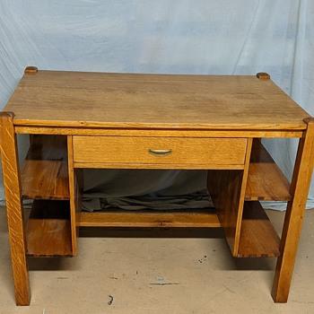Arts and Crafts desk. - Furniture