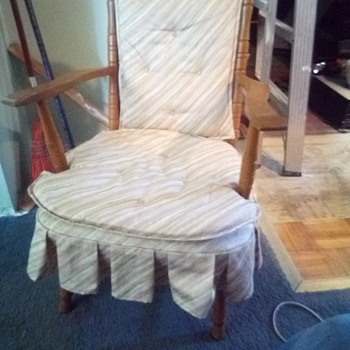 Maple child sized spring rocker ?? - Furniture