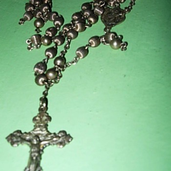 Silver Rosary - Fine Jewelry