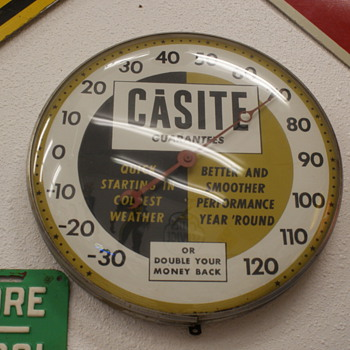 Casite thermometer - Advertising