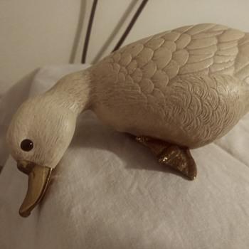 Lancel Paris Resin duck - Animals