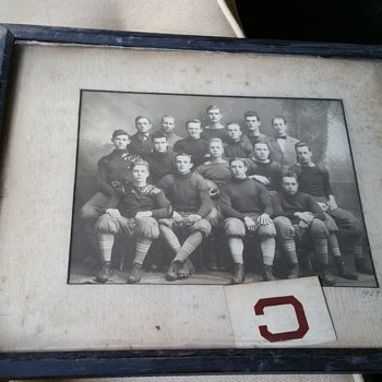 1909 football picture  - Football