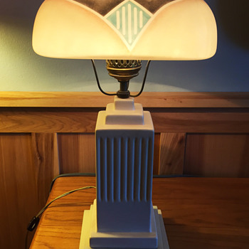 Art Deco Lamp - Lamps