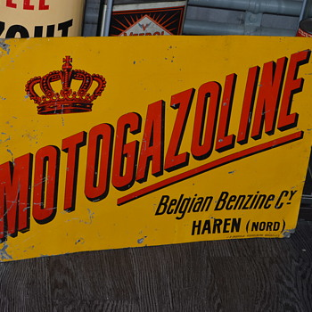 motogazoline sign - Signs