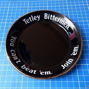 Tetley Bittermen UK ceramic ashtray  - Breweriana
