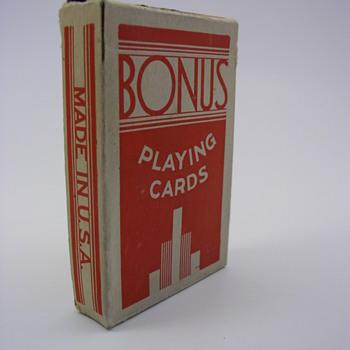 Bonus Playing Cards - Cards