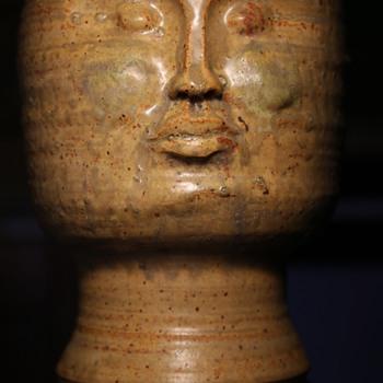 Incredible Head Planter! - Pottery