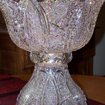 My Mother-in-law's punch bowl - Glassware
