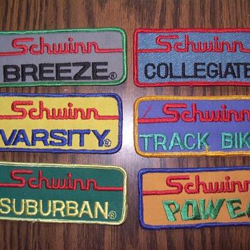 Schwinn patches.