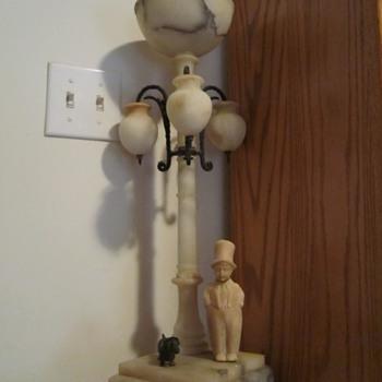 Marble Floor Lamp - Lamps