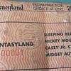 DISNEYLAND B Ticket # F000001