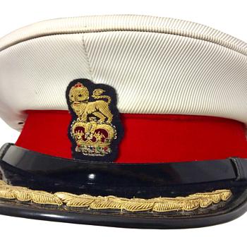 Royal Marine Brigadier's Dress cap - Military and Wartime